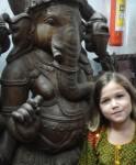 With Ganesha