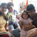 With Shruti & Aswin