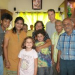Group shot with Rama's family