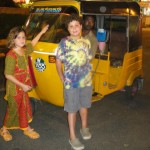Autorickshaw that we rode to the store