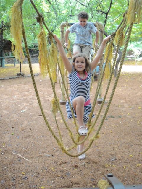 Backyard Rope Bridge we should build one in our backyard | losgrays adventures