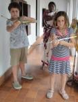 Bow & arrow practice