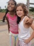 Instant friends! Nitu & Edie