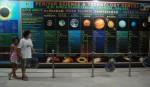 Heading into the planetarium