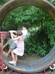 Human gerbil wheel