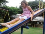 Cool roller slide